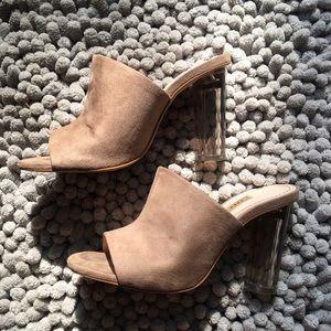 Beige Zara heels